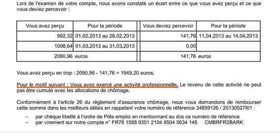 Recours Radiation Remise De Dette Rejetee